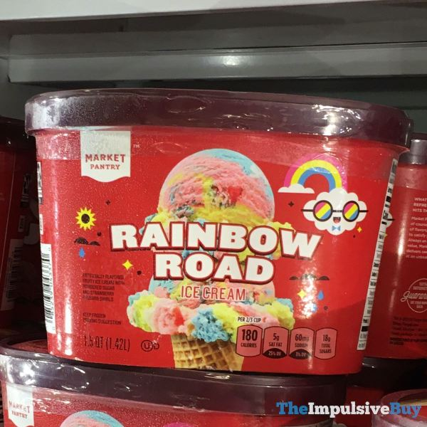 Market Pantry Rainbow Road Ice Cream