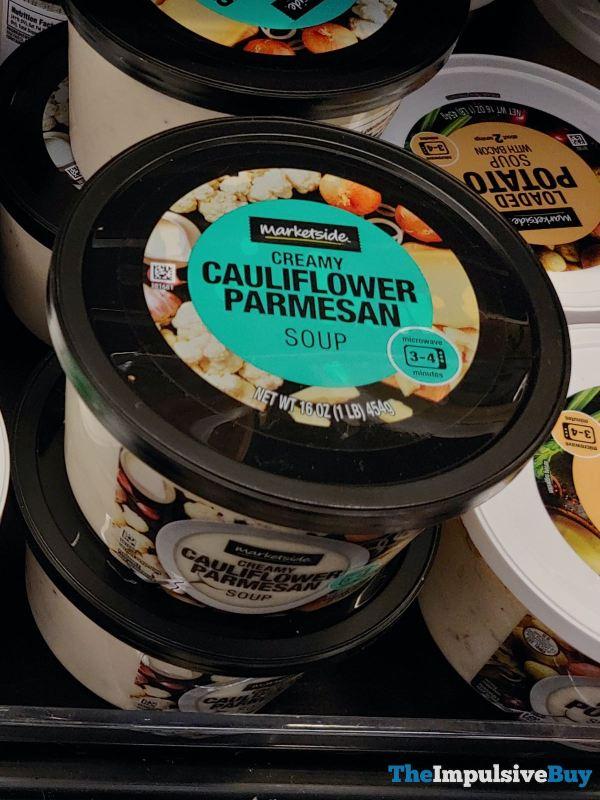 Marketside Creamy Cauliflower Parmesan Soup