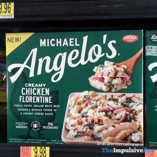 Michael Angelo s Creamy Chicken Florentine