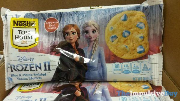 Nestle Toll House Disney Frozen II Blue  White Swirled Vanilla Morsels