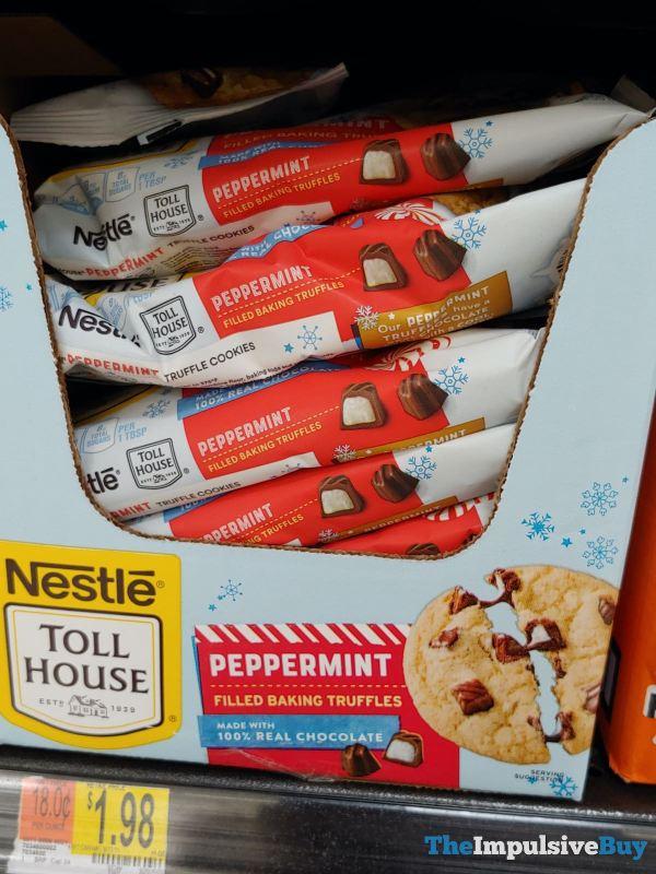 Nestle Toll House Peppermint Filled Baking Truffles