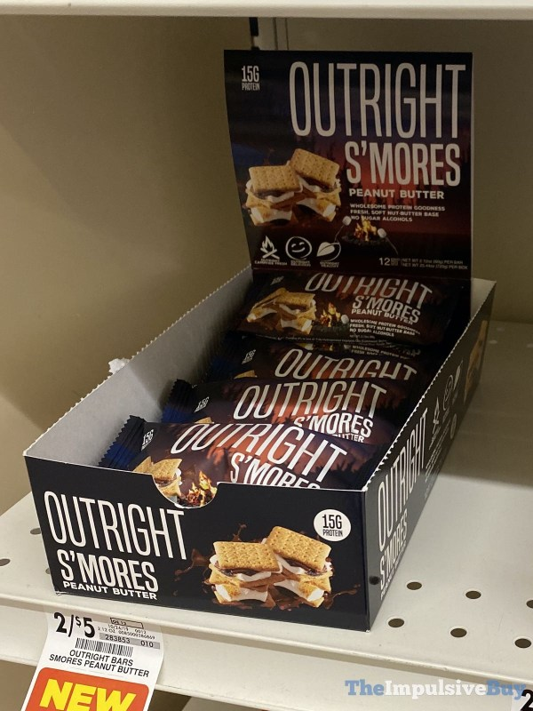 Outright Bars S mores Peanut Butter