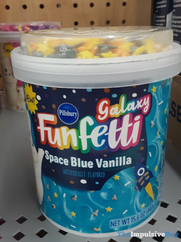 Pillsbury Galaxy Funfetti Space Blue Vanilla