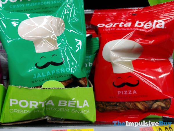 Porta Bela Crispy Mushroom Snack  Jalapeno and Pizza