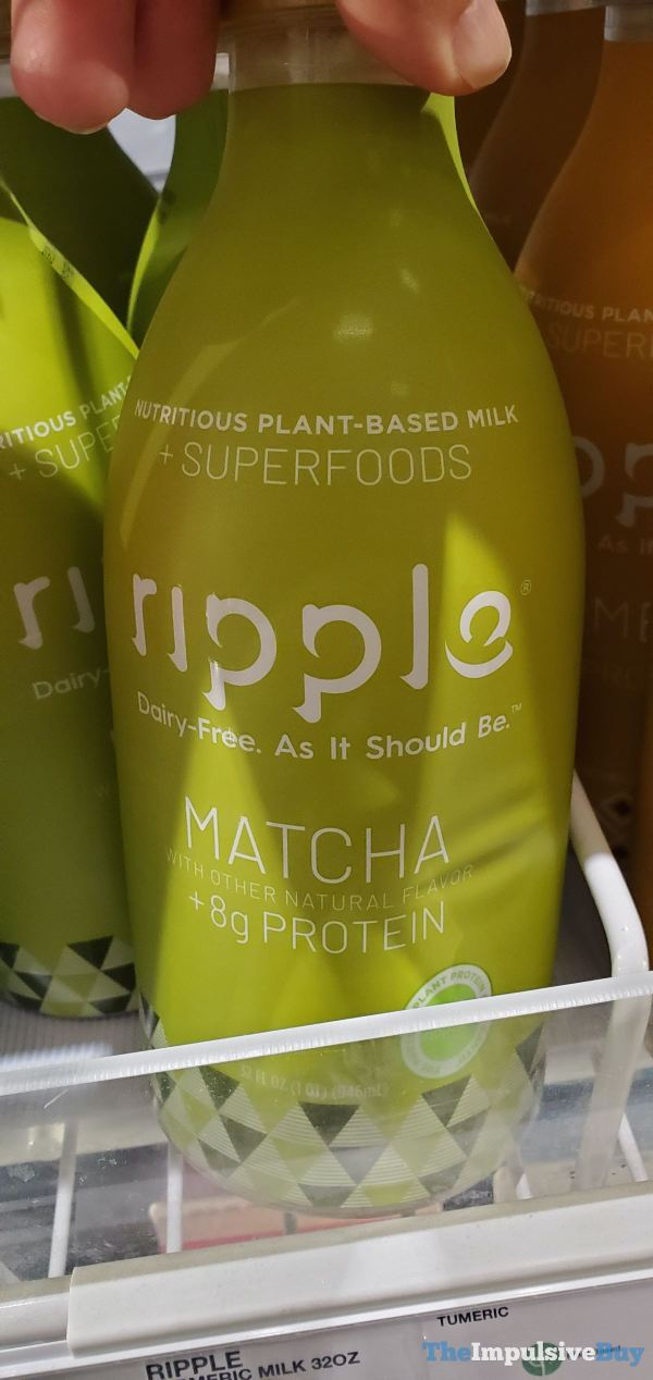 Ripple Matcha Plant Based Milk