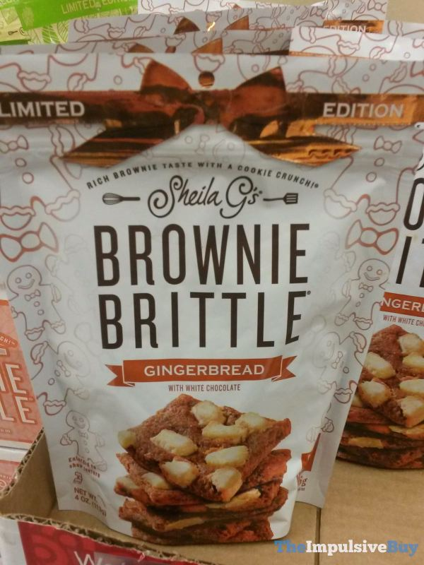 Sheila G s Limited Edition Gingerbread Brownie Brittle