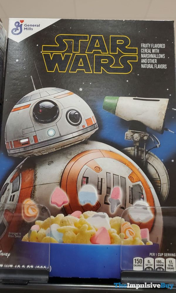 Star Wars Cereal  2019  BB 8 2