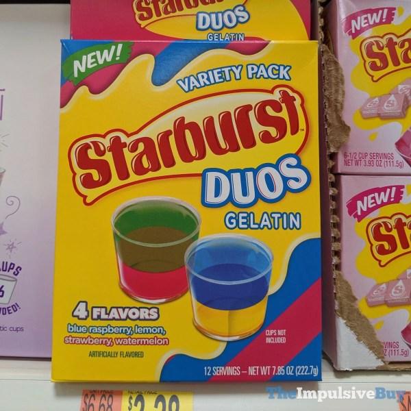 Starburst Duos Gelatin Variety Pack