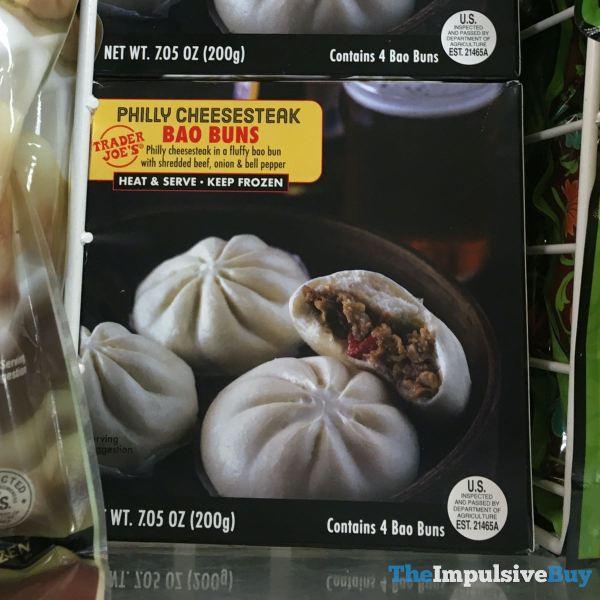 Trader Joe s Philly Cheesesteak Bao Buns