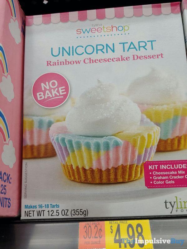 Tylina Sweetshop Unicorn Tart Rainbow Cheesecake Dessert