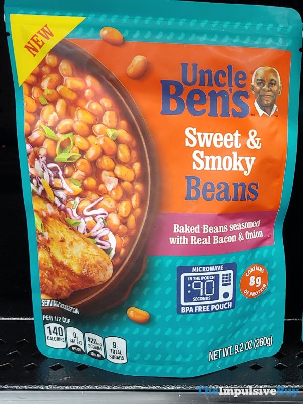 Uncle Ben s Sweet  Smoky Beans
