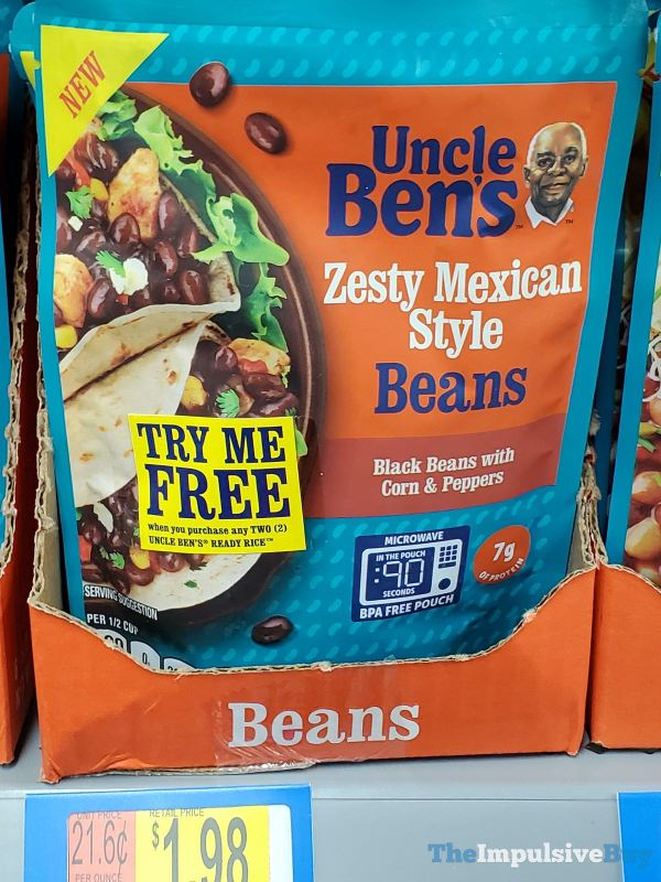 Uncle Ben's Zesty Mexican Style Beans