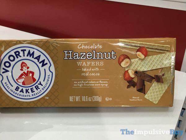 Voortman Bakery Chocolate Hazelnut Wafers