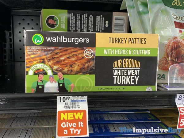 Wahlburgers Turkey Patties with Herbs  Stuffing