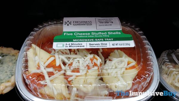 Walmart Five Cheese Stuffed Shells
