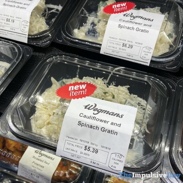 Wegmans Cauliflower and Spinach Gratin