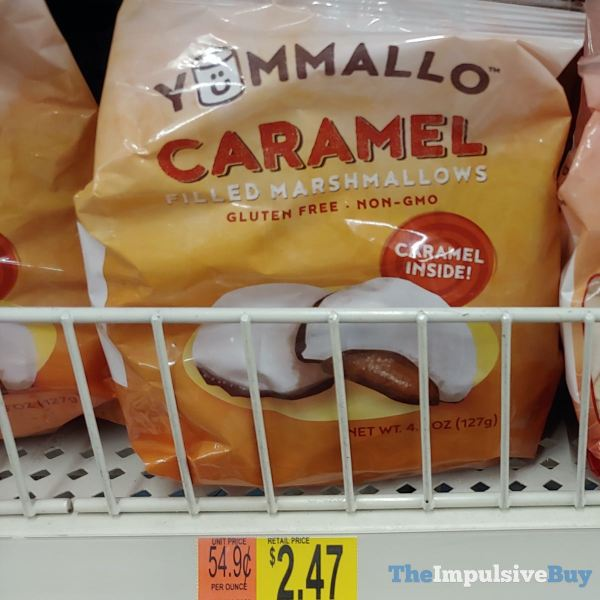 Yummallo Caramel Filled Marshmallows