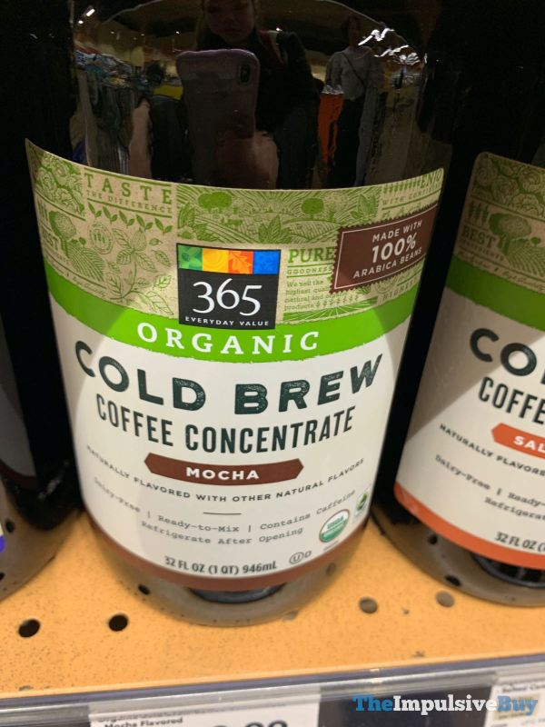 365 Everyday Value Organic Mocha Cold Brew Coffee Concentrate