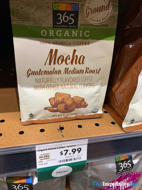 365 Everyday Value Organic Mocha Guatemalan Medium Roast