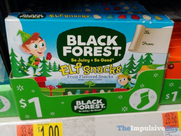 Black Forest Elf Snacks Fruit Flavored Snacks
