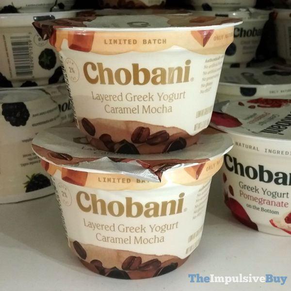 Chobani Limited Batch Caramel Mocha Layered Greek Yogurt