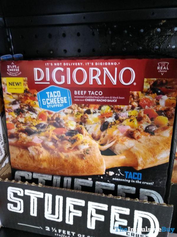 DiGiorno Beef Taco Stuffed Pizza