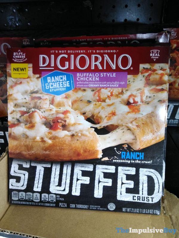 DiGiorno Buffalo Style Chicken Stuffed Crust Pizza
