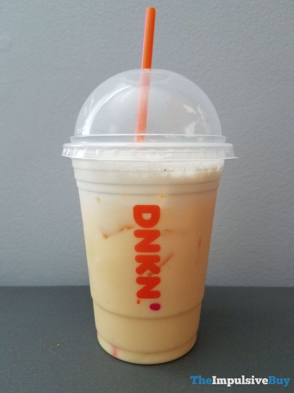 Dunkin Holiday Eggnog Signature Latte