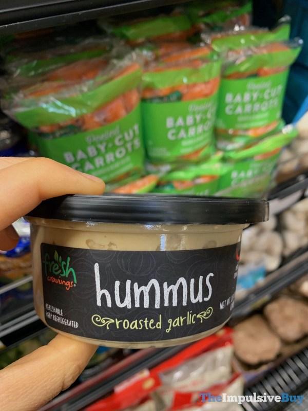 Fresh Cravings Roasted Garlic Hummus