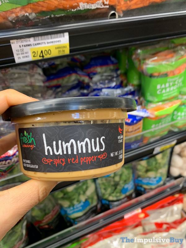 Fresh Cravings Spicy Red Pepper Hummus