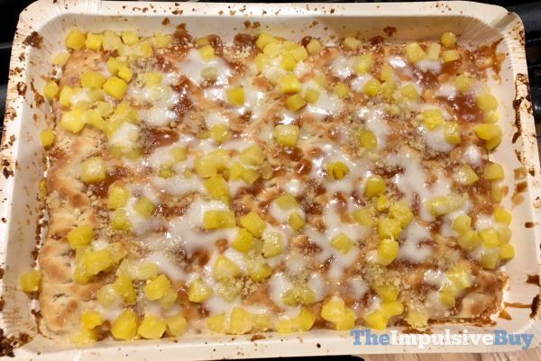 Great Value Pineapple Dessert Pizza Baked