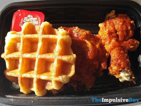 KFC Nashville Hot Chicken  Waffles Sans Syrup