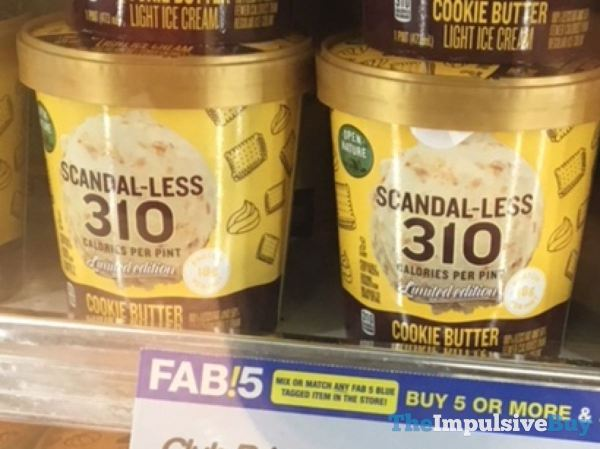 Open Nature Scandal less Limited Edition Cookie Butter Light Ice Cream