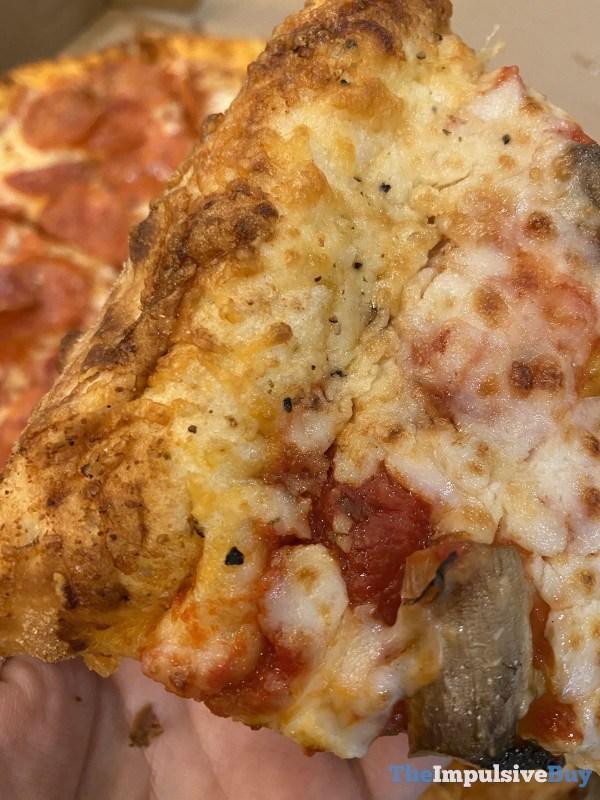 Papa John s Garlic Parmesan Crust Closeup 2