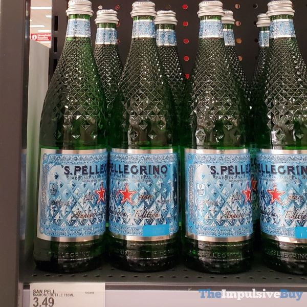 San Pellegrino Anniversary Edition Diamond Bottle