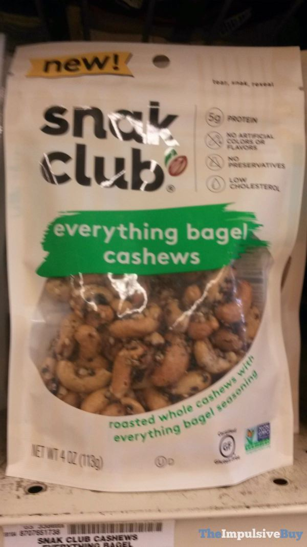 Snak Club Everything Bagel Cashews