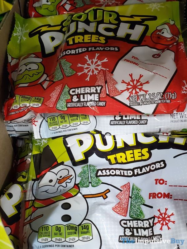 Sour Punch Trees Assorted Flavors Cherry Lime