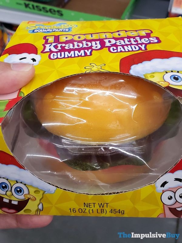 Spongebob Squarepants 1 Pounder Krabby Patties Gummy Candy