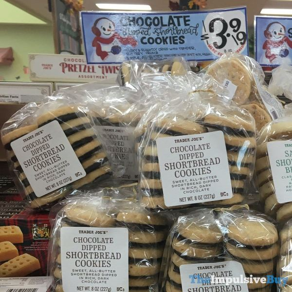 Trader Joe s Chocolate Dipped Shortbread Cookies