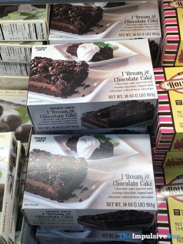 Trader Joe s I Dream of Chocolate Cake