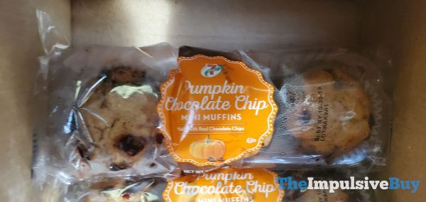 7 Select Pumpkin Chocolate Chip Mini Muffins