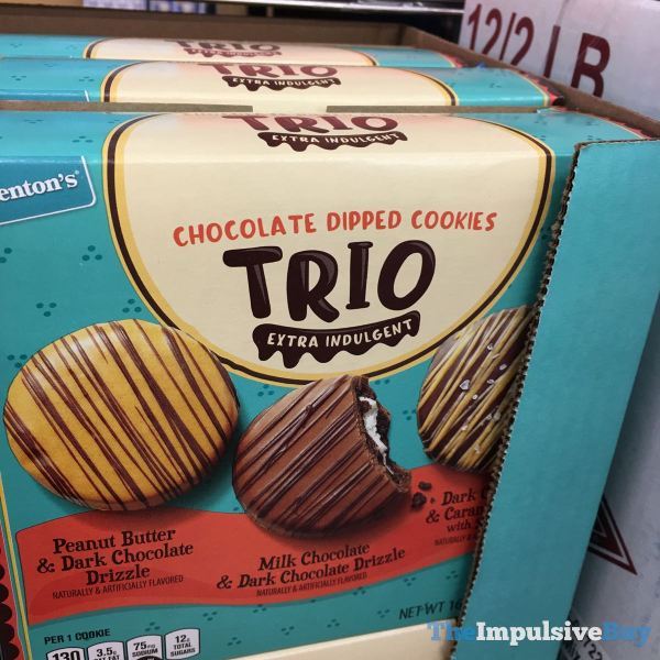 Benton s Chocolate Dipped Cookies Trio Extra Indulgent