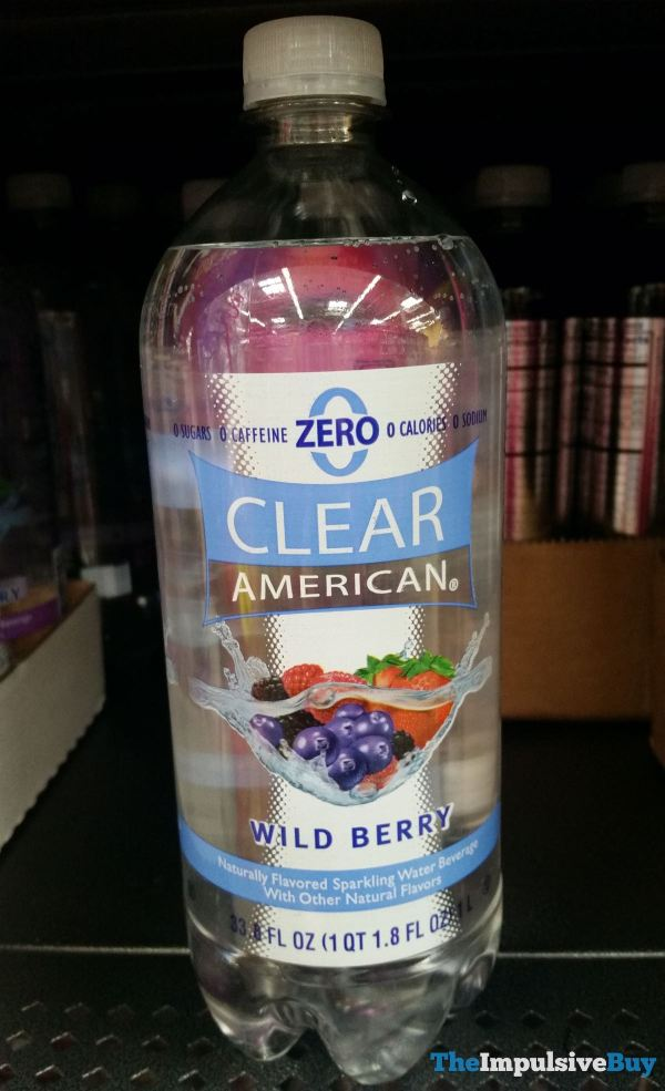 Clear American Wild Berry Sparkling Water