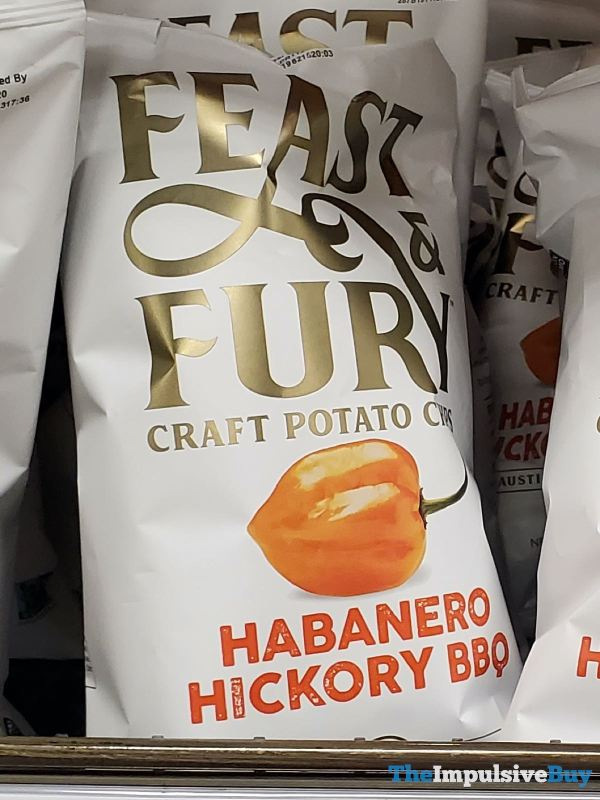 Feast  Fury Habanero Hickory BBQ Craft Potato Chips
