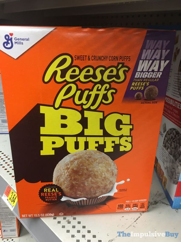 General Mills Reese s Puffs Big Puffs Cereal