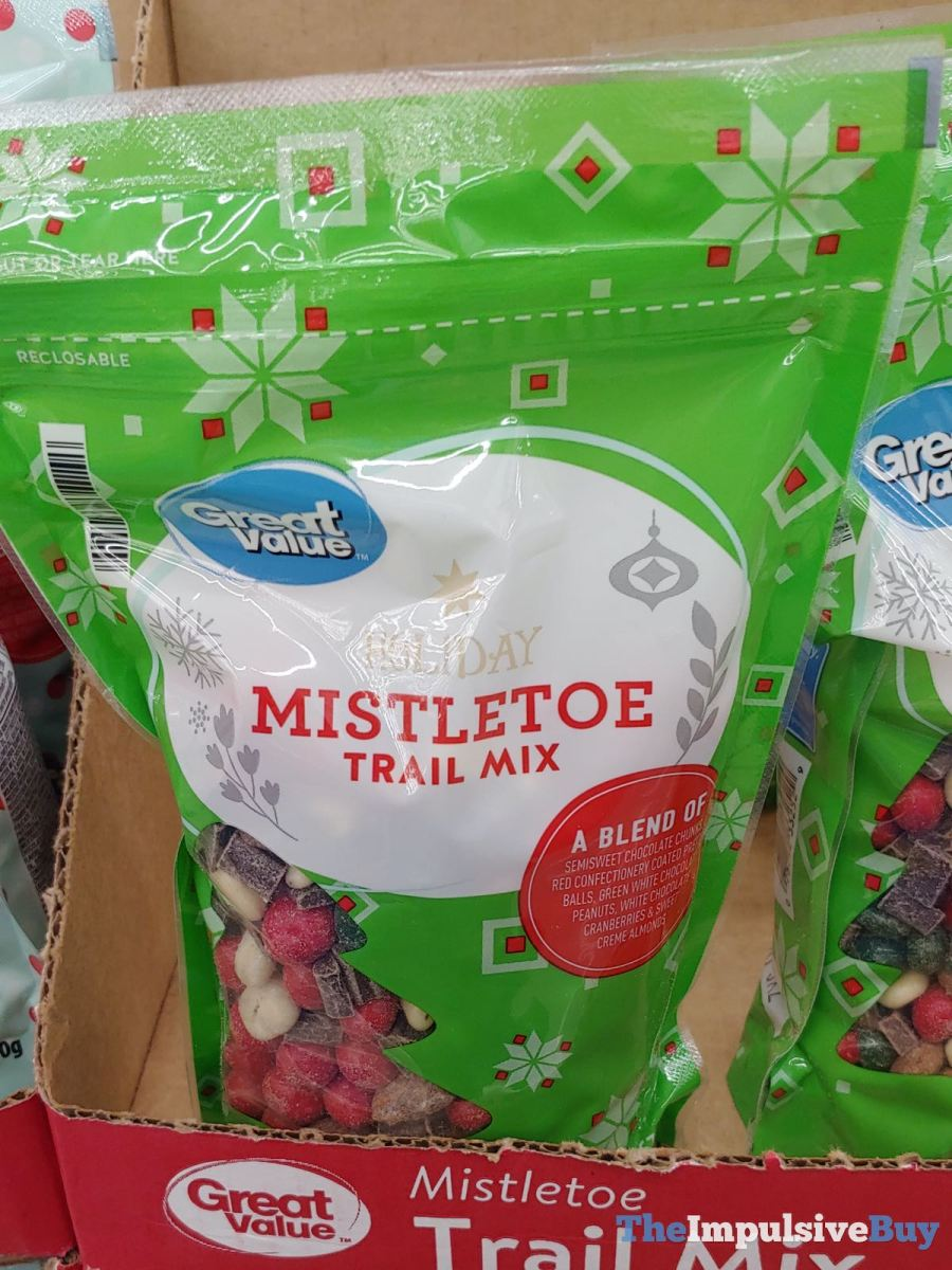 Great Value Holiday Mistletoe Trail Mix Jpeg The Impulsive Buy