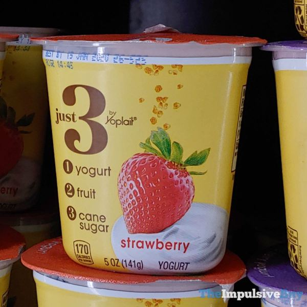 Just 3 by Yoplait Strawberry Yogurt