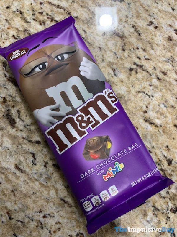 M M s Dark Chocolate Bar with Minis