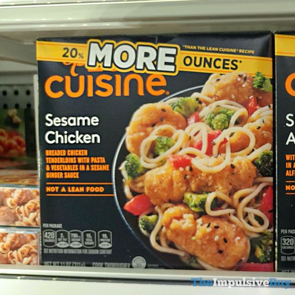 More Cuisine Sesame Chicken