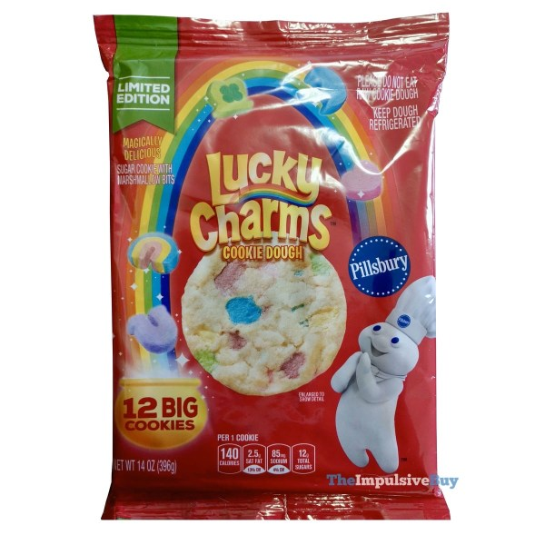 Pillsbury Limited Edition Lucky Charms Cookie Dough